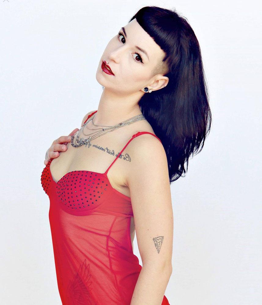 Suicide Girl Model Megan